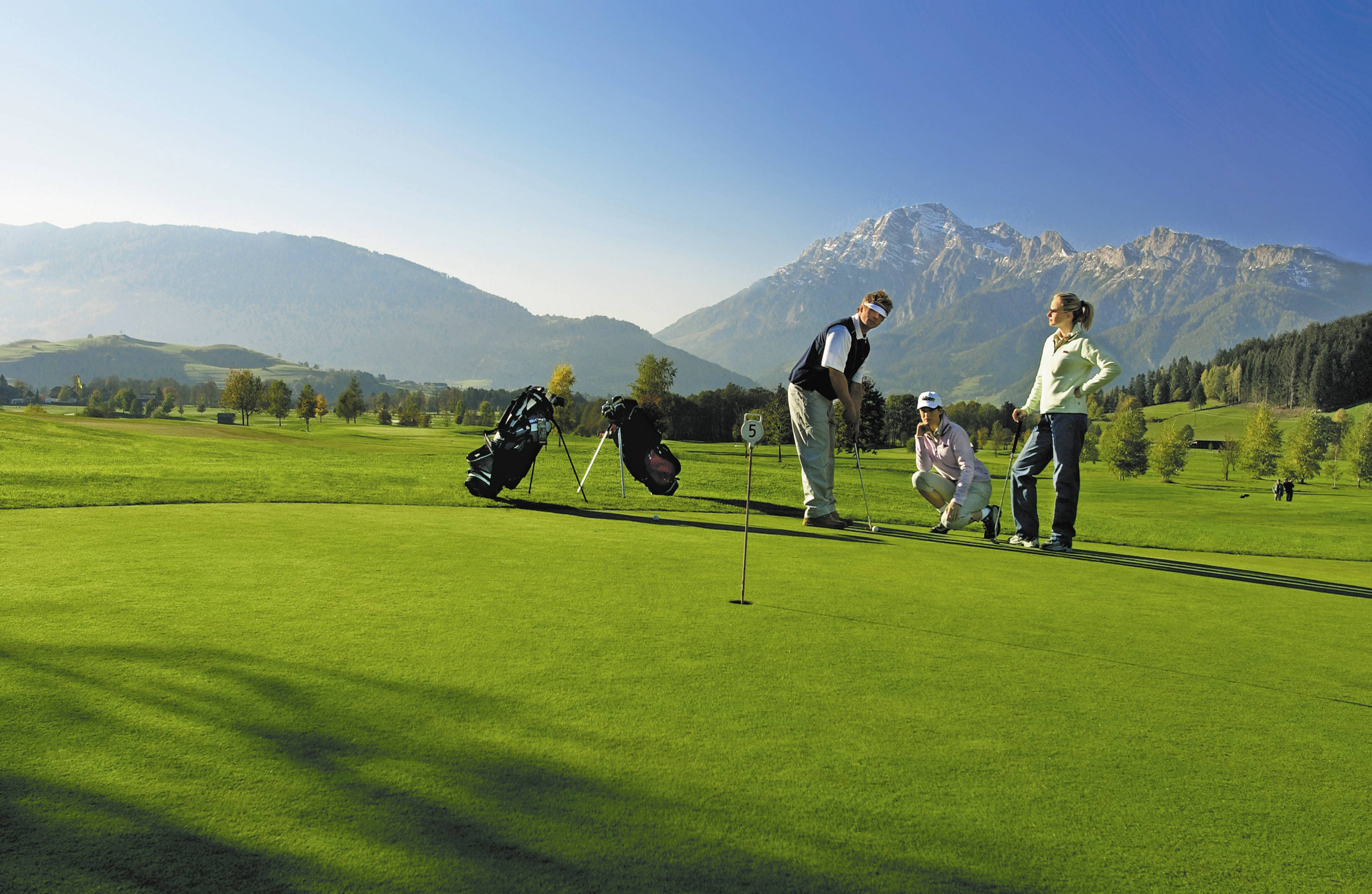 golf in austria. Black Bedroom Furniture Sets. Home Design Ideas